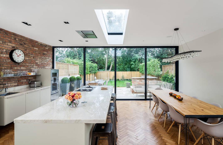 Ashley Road Comedores de estilo moderno de Concept Eight Architects Moderno