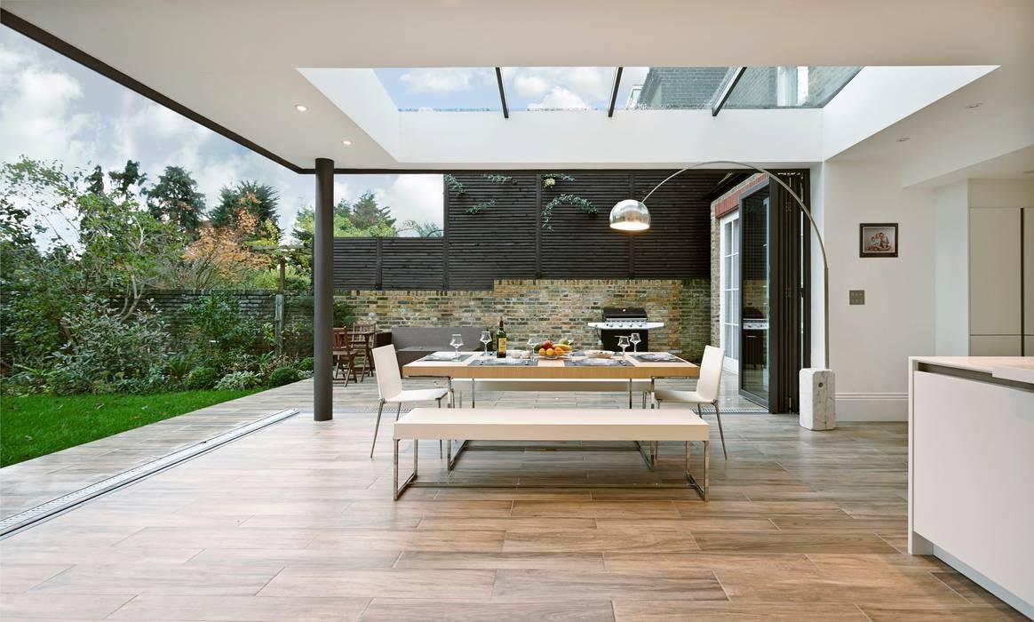 Woodville Gardens Balcones y terrazas de estilo moderno de Concept Eight Architects Moderno