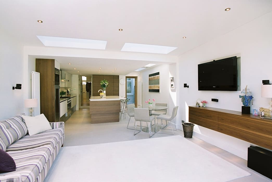Swaffield Road Concept Eight Architects Living room