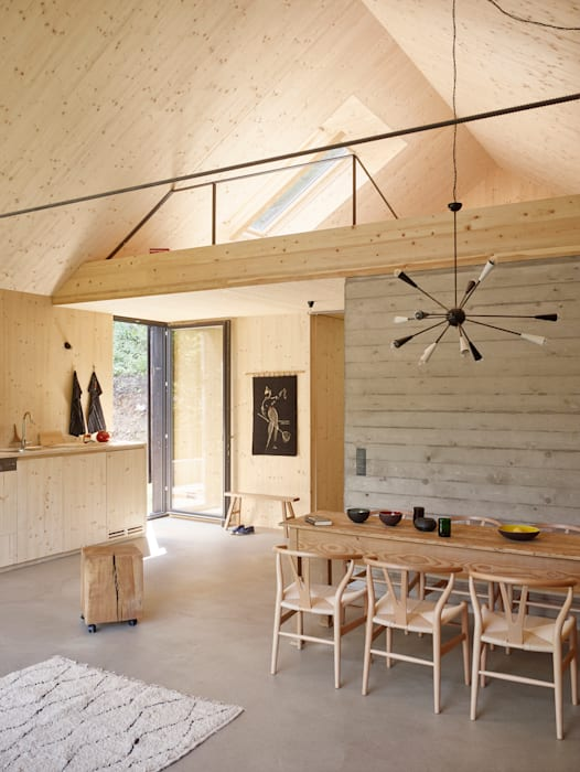 Phòng ăn theo Backraum Architektur,