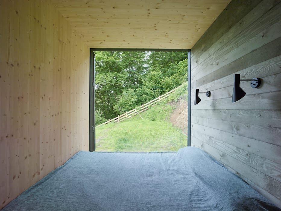 Kamar Tidur oleh Backraum Architektur, Modern