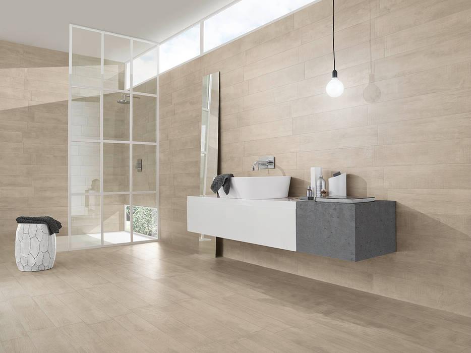 Wildwood: Casas de banho  por Love Tiles