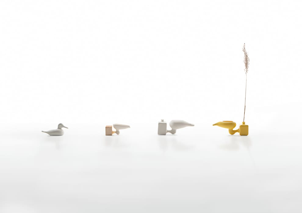 Eva - vase de Jochem Kruizinga Moderno Cerámico