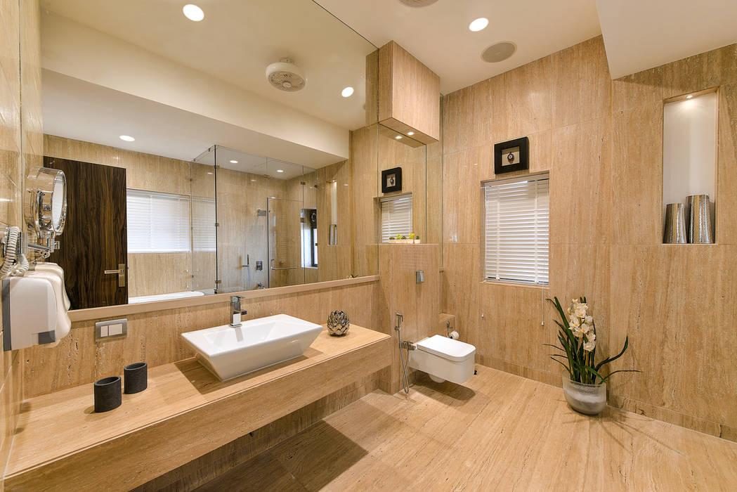 Bathroom:  Bathroom by ARK Reza Kabul Architects Pvt. Ltd.