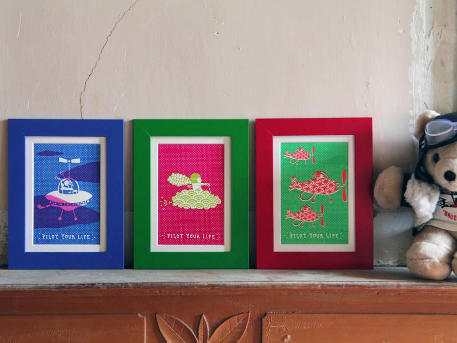 Joanna Wiejak ArtworkPictures & paintings Paper Multicolored