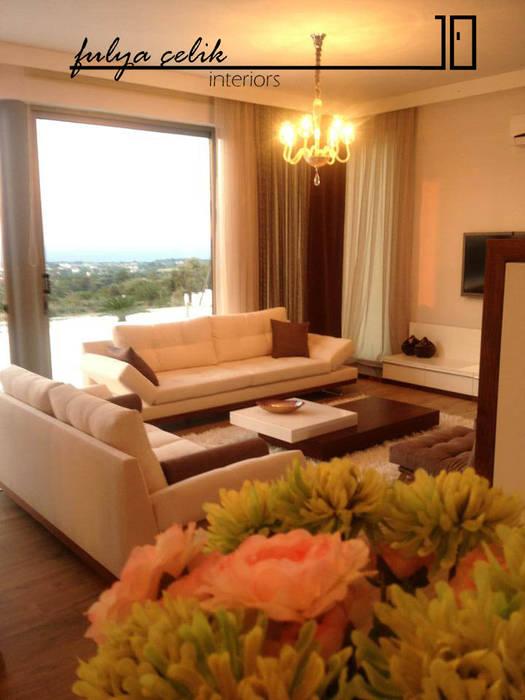 cyprus interiors – salon: modern tarz , Modern