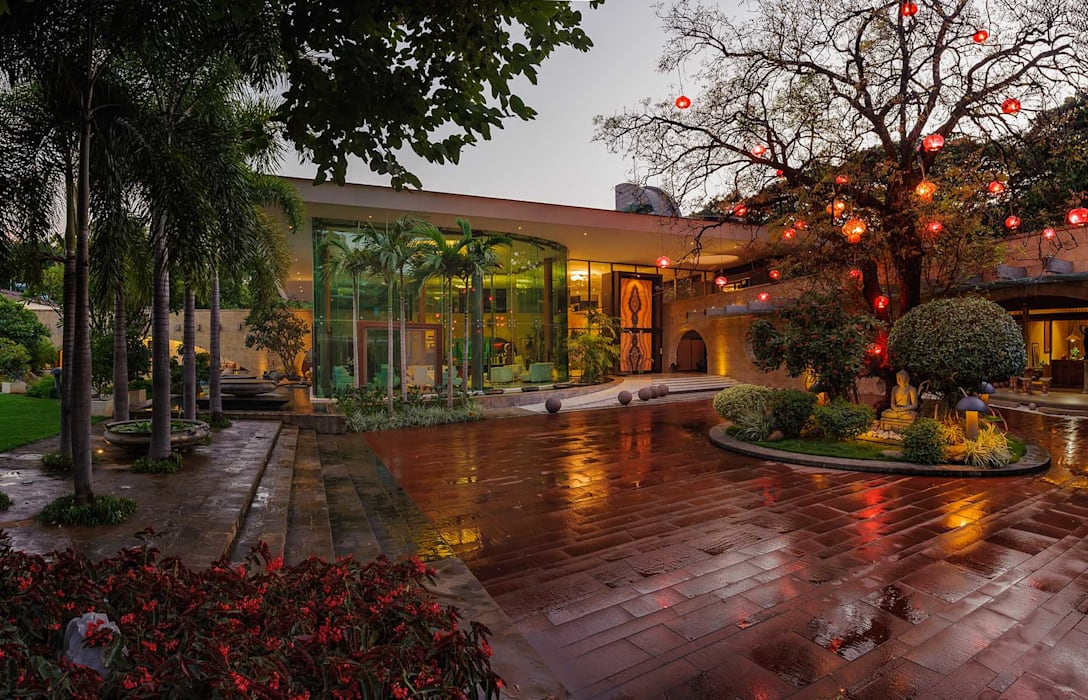 Nest - Private residence at Koregaon Park Modern houses by TAO Architecture Pvt. Ltd. Modern