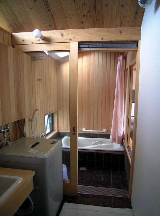 浴室 オリジナルスタイルの お風呂 の 計画工房 辿 オリジナル 無垢材 多色