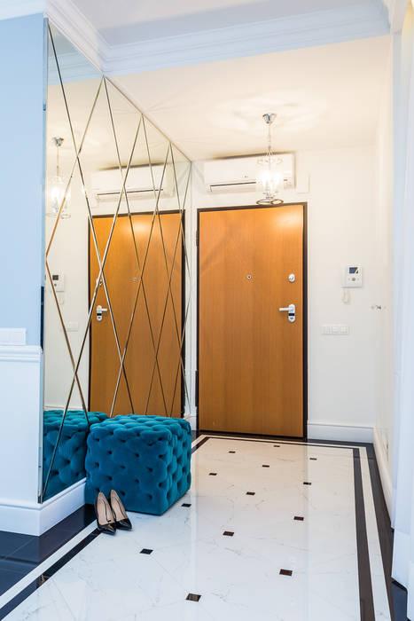 Michał Młynarczyk Fotograf Wnętrz Ingresso, Corridoio & Scale in stile moderno