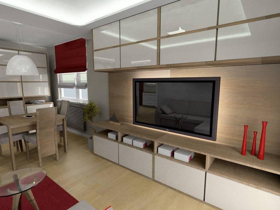 โดย Plan Design Katarzyna Szczucka Projektowanie Wnętrz