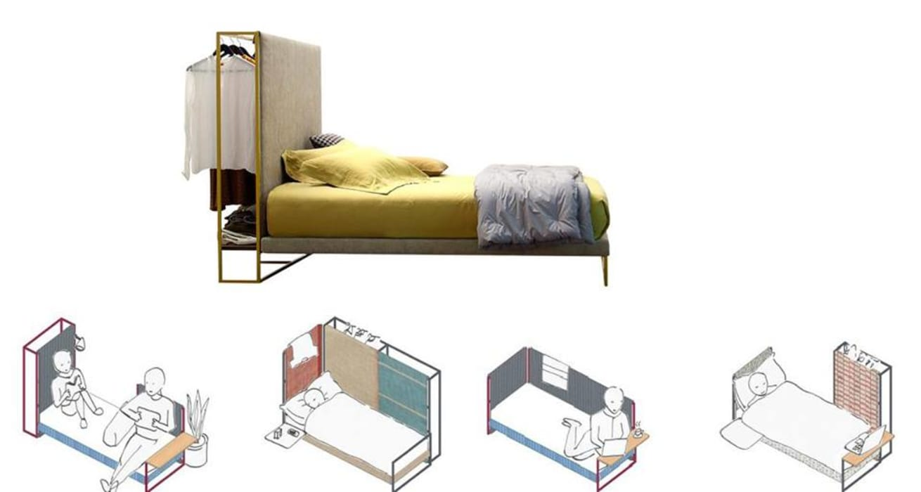 Frame by Twils: Camera da letto in stile in stile Moderno di Mobilificio Marchese