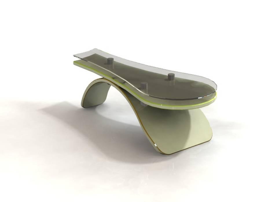 """"""" Equilibre """": Salon de style  par Atelier Créa' Design"""
