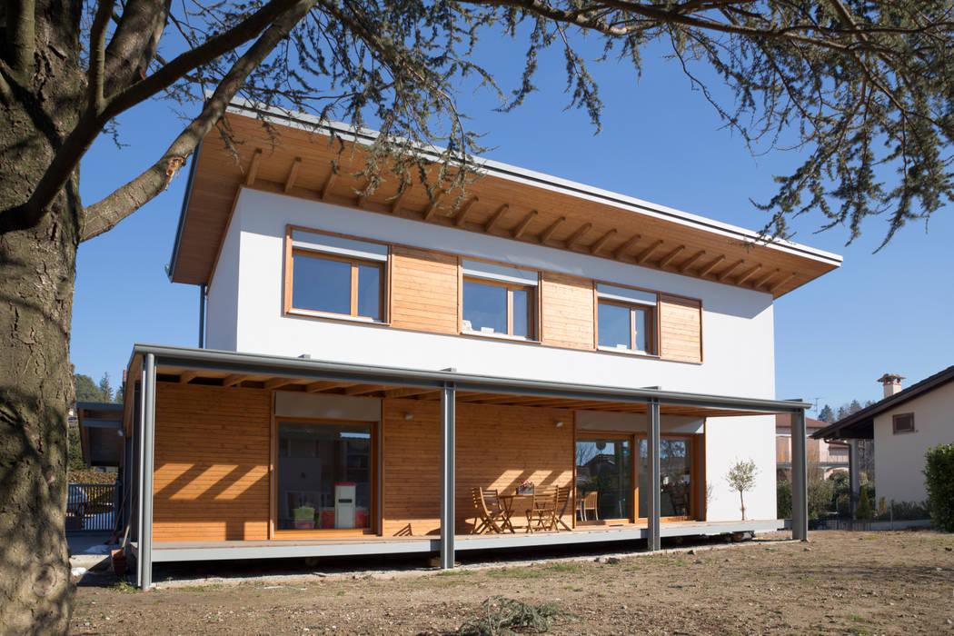 Casa Stile Moderno Esterni : Case in legno design moderno beautiful case legno moderne interni