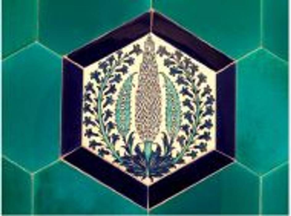 ANİKYA İZNİK ÇİNİ – THE MARMARA OTELİ / TAKSİM-İSTANBUL:  tarz Banyo,
