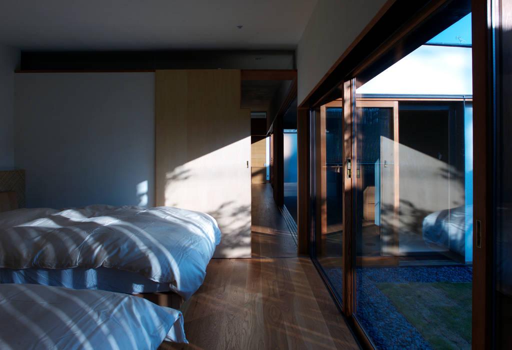 saga iy-house: 株式会社コヤマアトリエ一級建築士事務所が手掛けた寝室です。