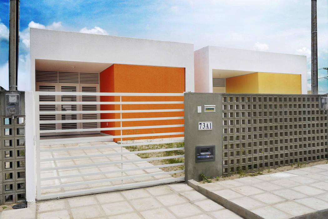 Casas de estilo  por Martins Lucena Arquitetos, Minimalista