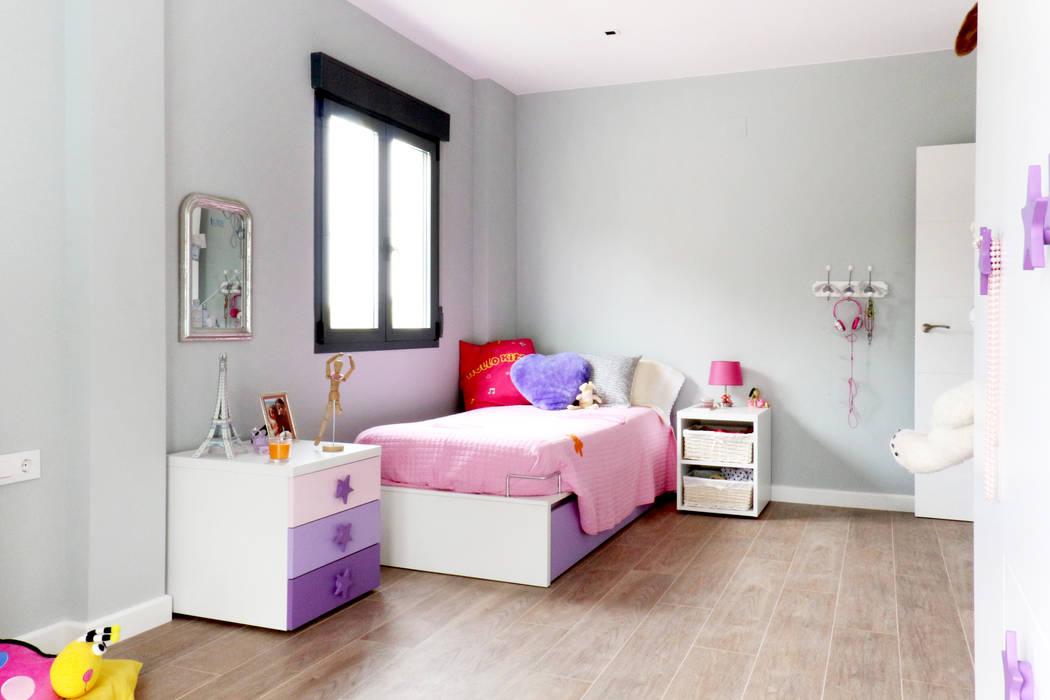 Antes de Casa de VV, en La Cañada acertus Dormitorios infantiles de estilo moderno
