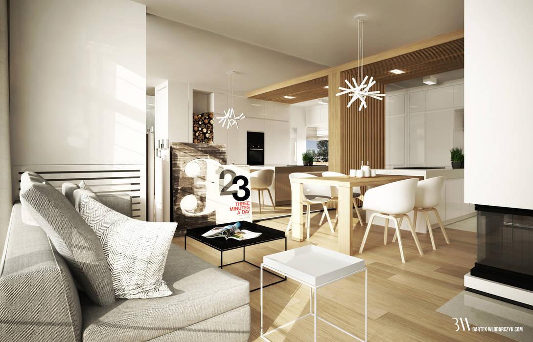 Bartek Włodarczyk Architekt Living room