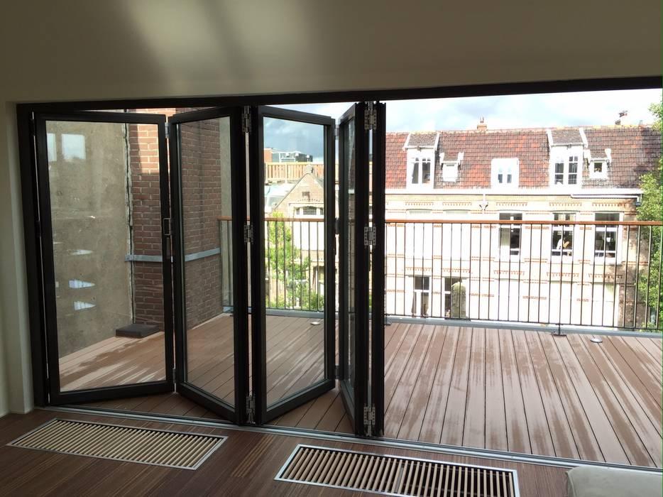 Dakopbouw Amsterdam Moderne studeerkamer van homify Modern