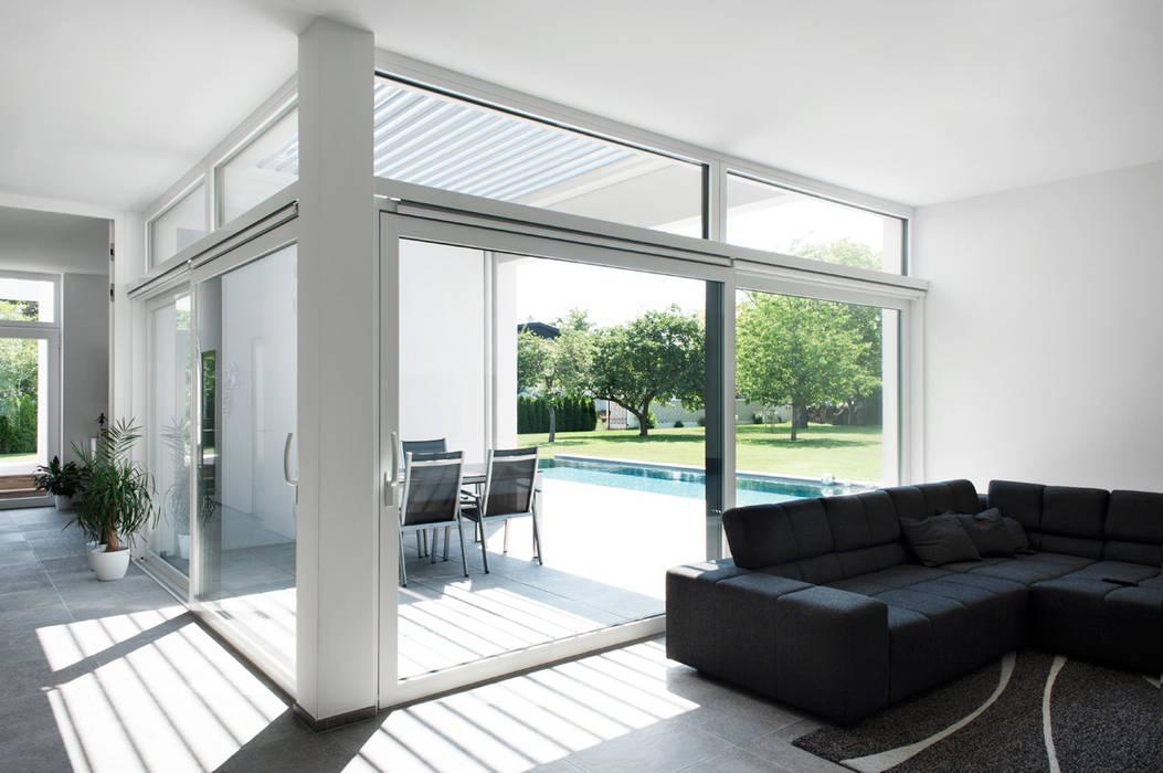 Living room by x42 Architektur ZT GmbH