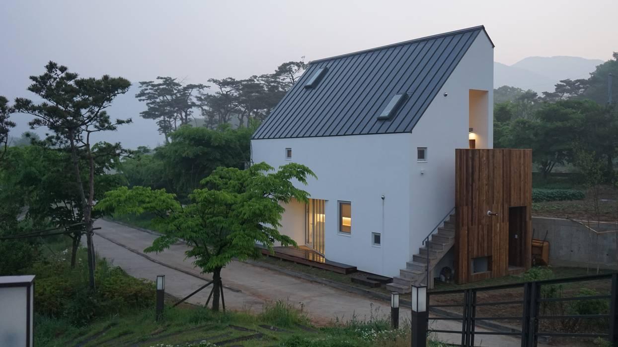 능내역 NO.9 ART FACTORY 모던스타일 주택 by 건축사사무소 스무숲 모던