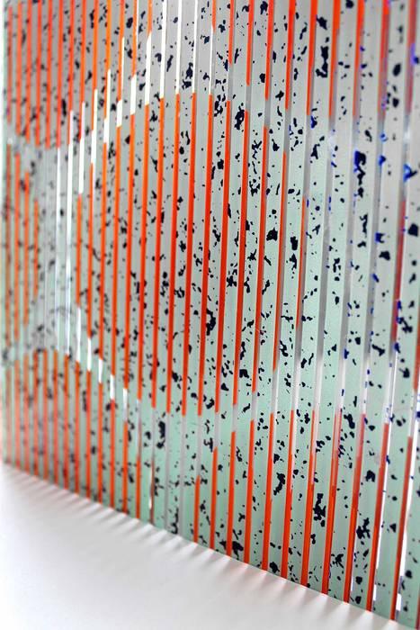 MATHEMATISCHE PANELEN Moderne muren & vloeren van Nina van Bart Modern Glas