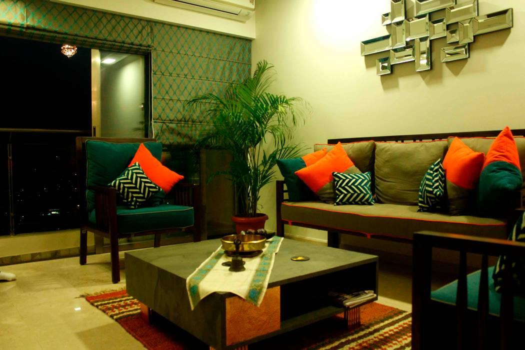 Residence at Raheja, Powai by JRarchitects Азіатський