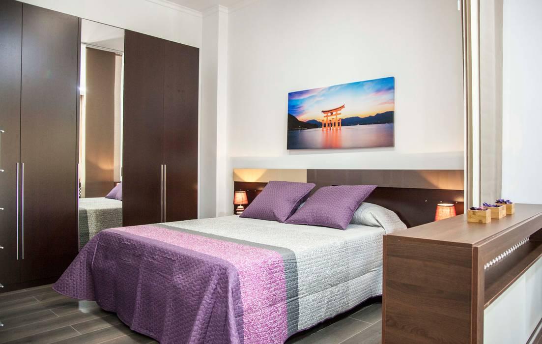 LOFT ISLA SALVORA_1 #LOFTOBD3 Mohedano Estudio de Arquitectura S.L.P. Dormitorios de estilo moderno