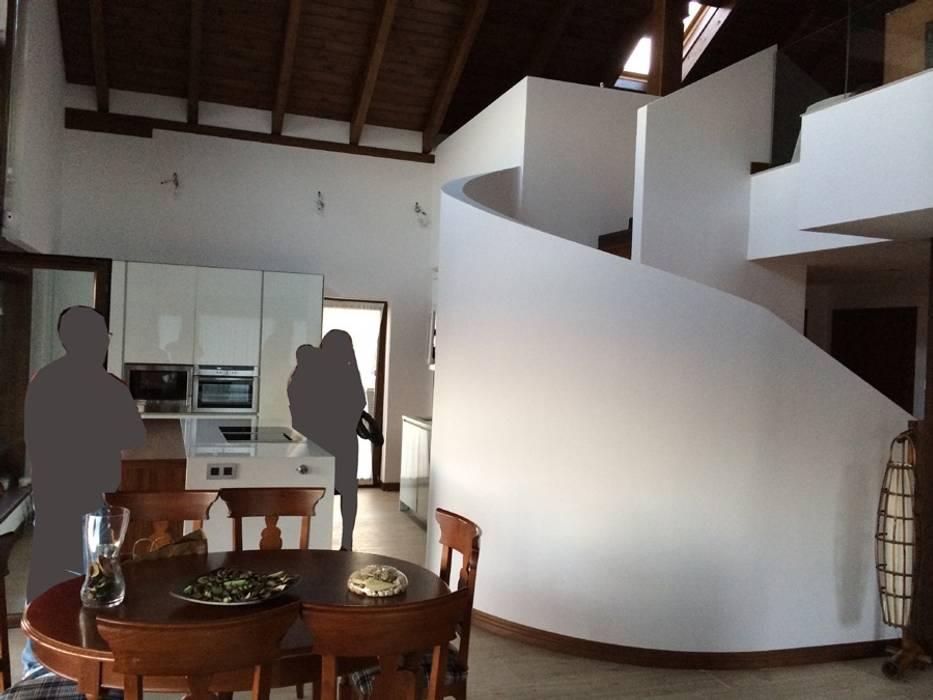Salas modernas de Manuel Monroy Pagnon, arquitecto Moderno
