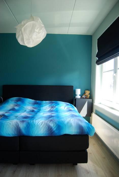 Woonhuis Huis ter Heide Moderne slaapkamers van homify Modern