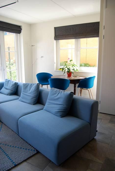 Woonhuis Huis ter Heide Moderne woonkamers van homify Modern