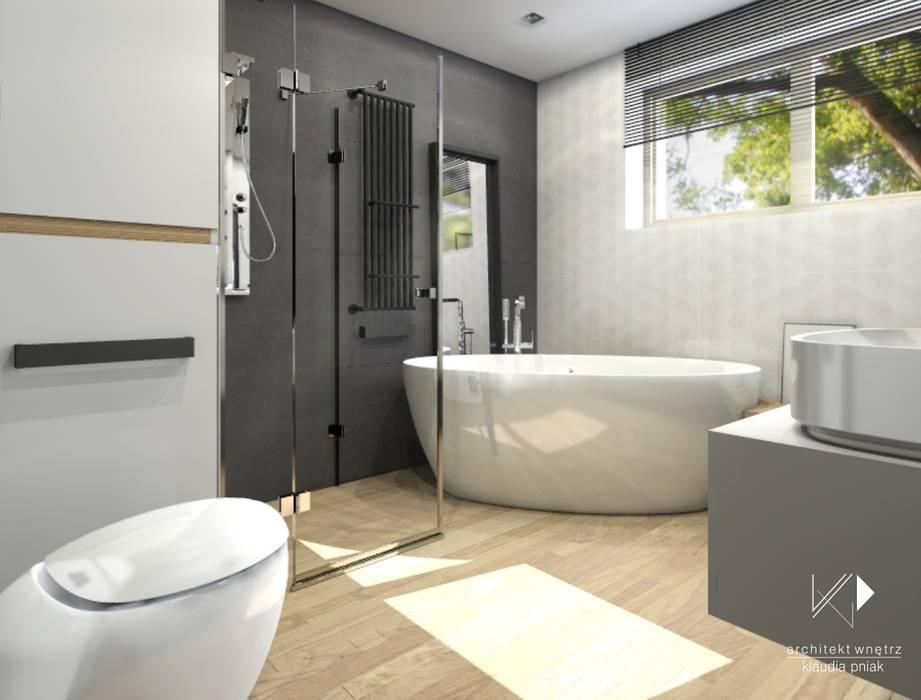 Bathroom by Architekt wnętrz Klaudia Pniak, Scandinavian