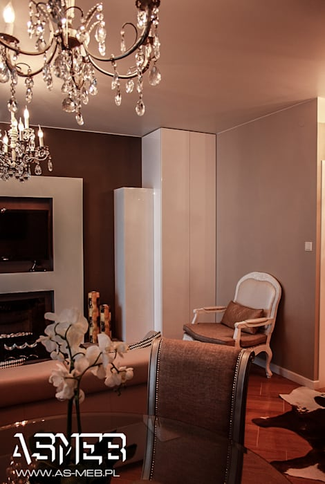 AS-MEB Modern living room MDF Beige