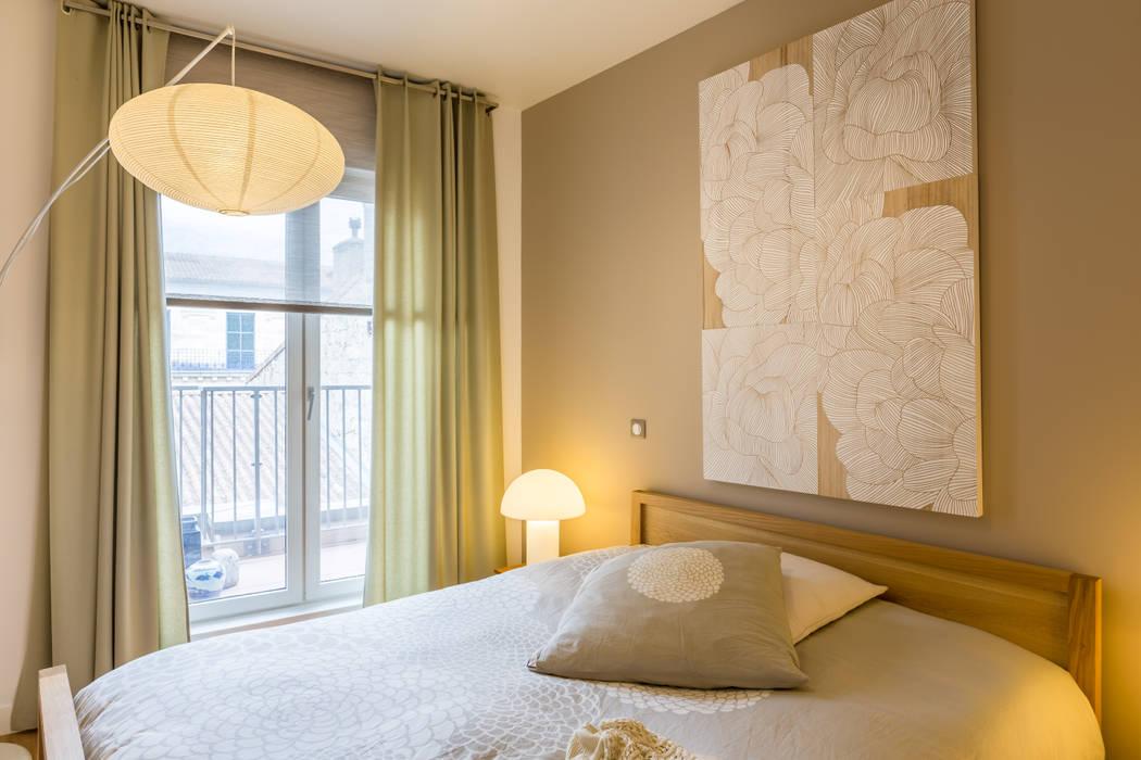 Chambre zen par EXPRESSION ARCHITECTURE INTERIEUR Asiatique