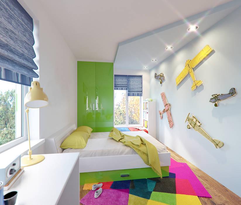 Children rooms in Frankfurt am Main, Hessen, Germany Moderne Kinderzimmer von Insight Vision GmbH Modern
