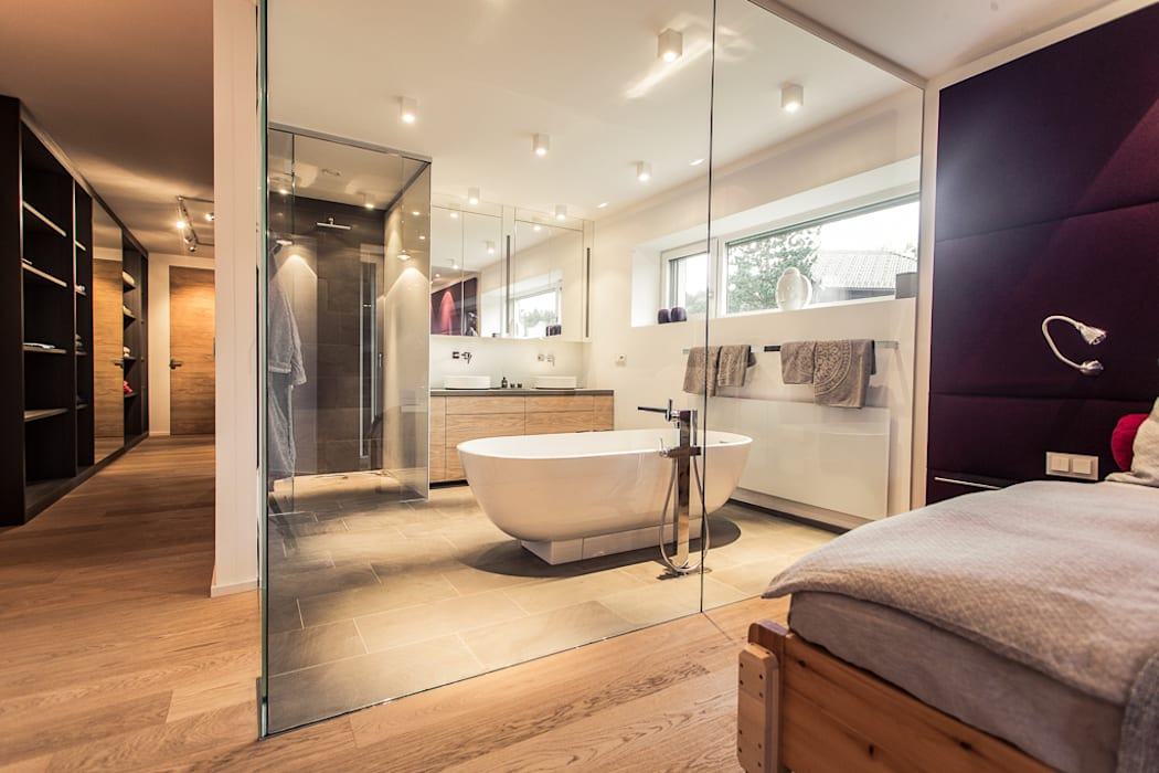 Modern bathroom by Meissl Architects ZT GmbH Modern