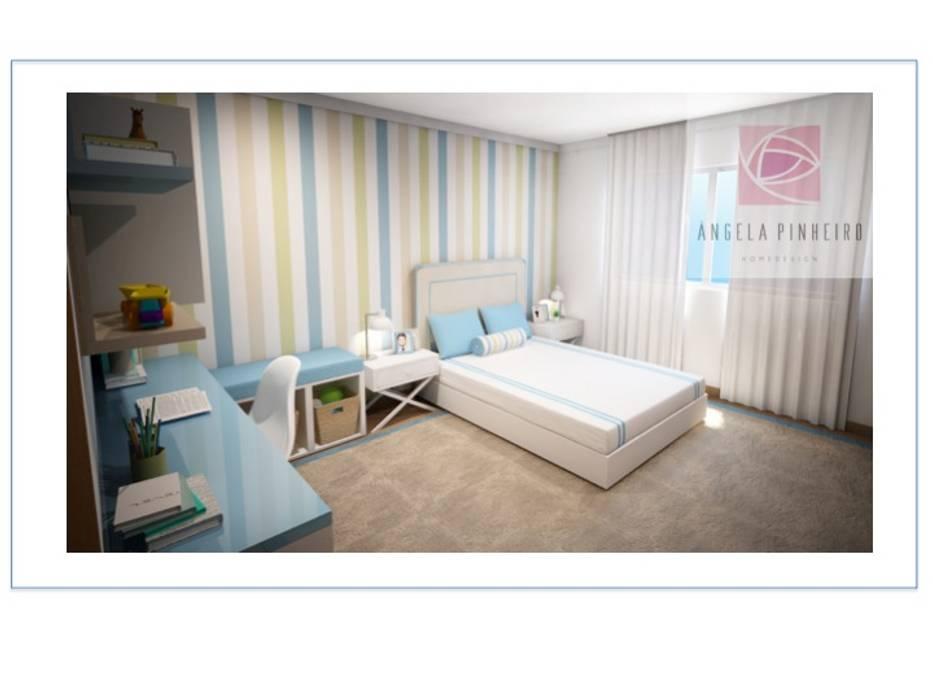 Quarto Bernardo: Quartos de criança  por Ângela Pinheiro Home Design,