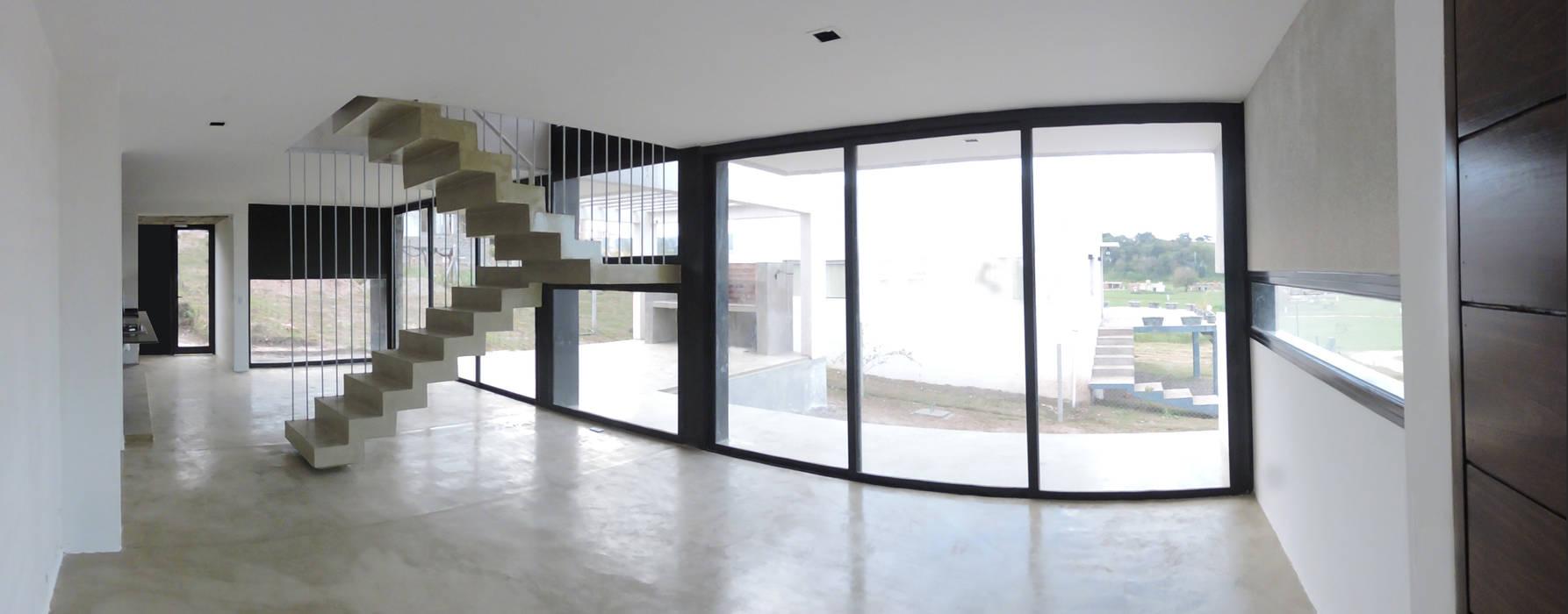 Стены и пол в стиле минимализм от jose m zamora ARQ Минимализм