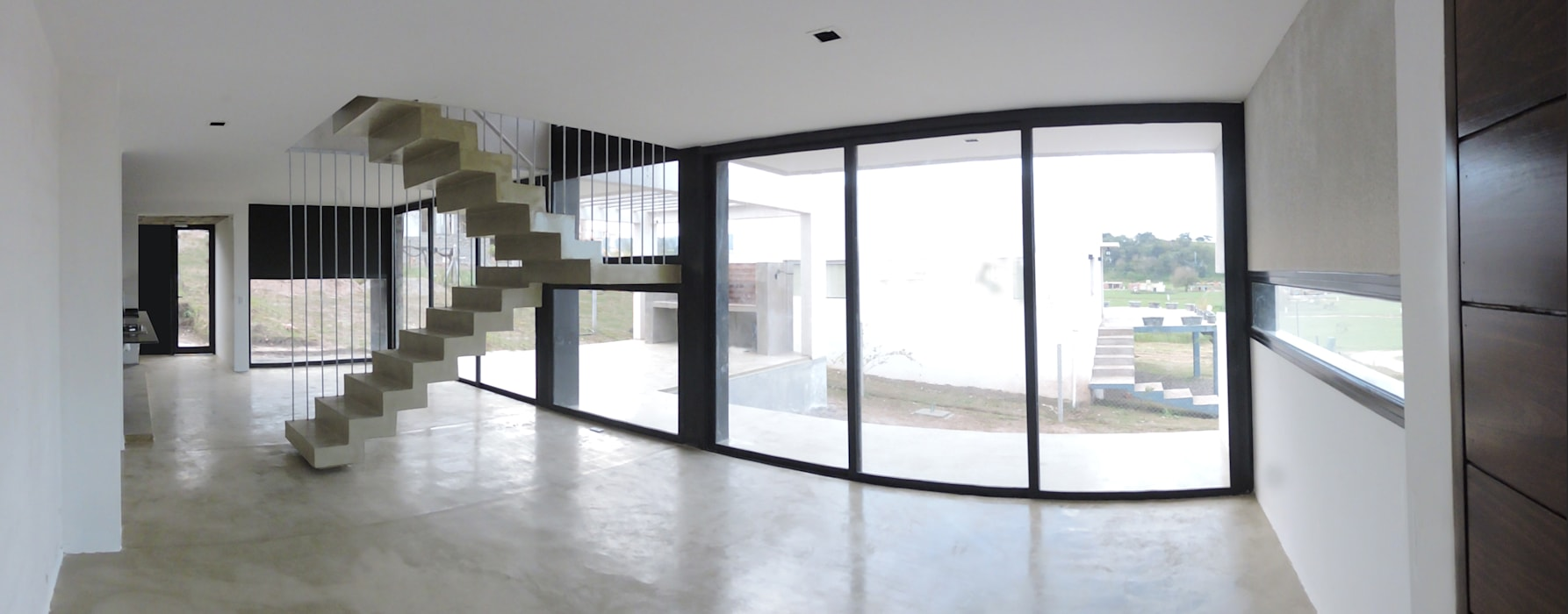 Casa LL: Paredes de estilo  por jose m zamora ARQ,Minimalista