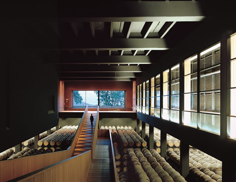 Cavas de estilo minimalista por Ignacio Quemada Arquitectos