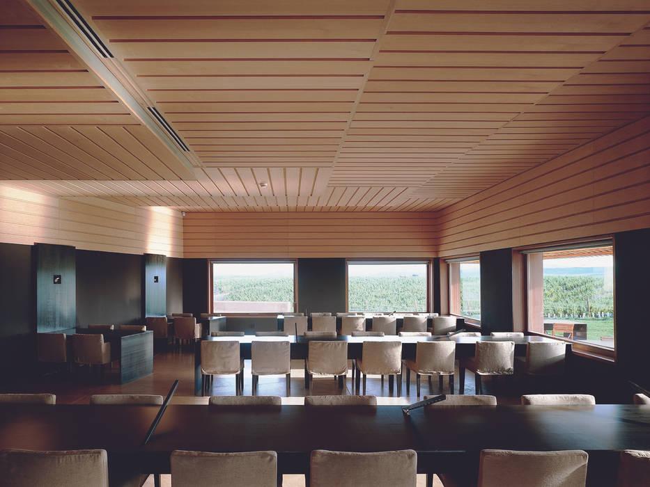 minimalistic Dining room by Ignacio Quemada Arquitectos