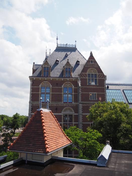 Glazing Vision Balcon, Veranda & Terrasse modernes Verre