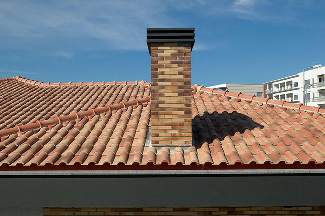 Moradia Mendes Casas modernas por CS Coelho da Silva SA Moderno