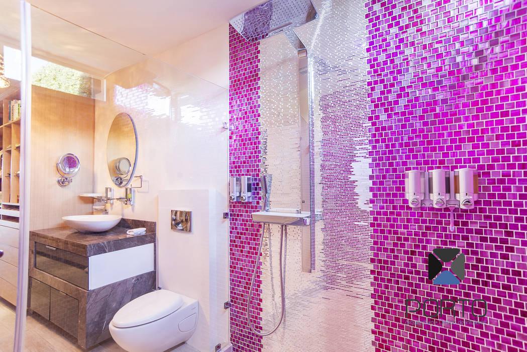 Bathroom by PORTO Arquitectura + Diseño de Interiores, Eclectic