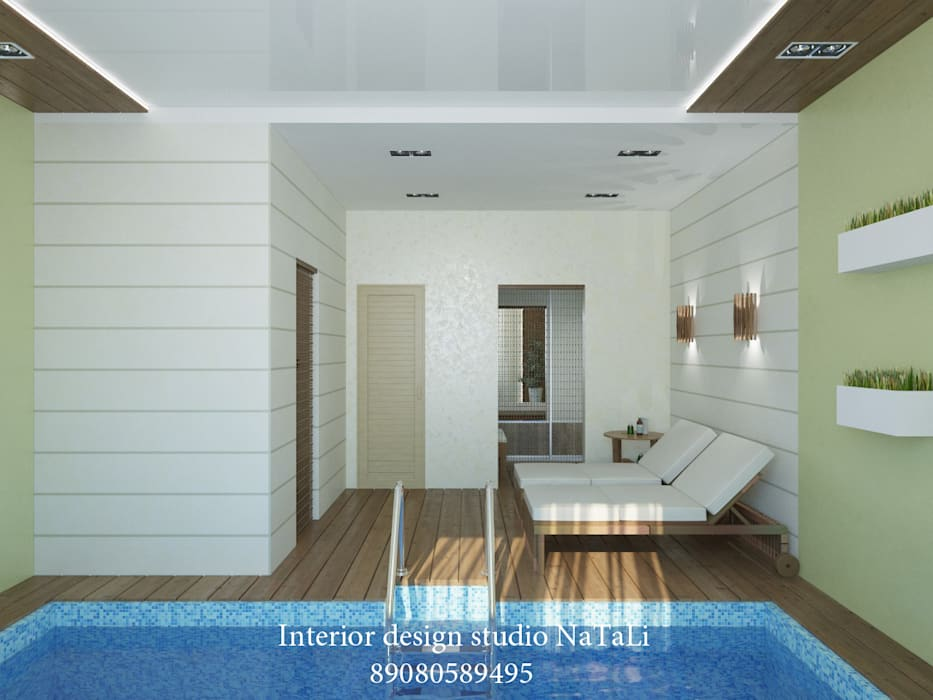 Zwembad door interior design studio natali студия дизайна