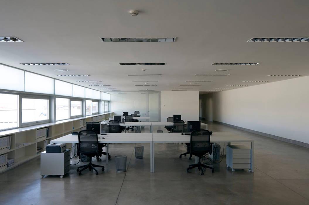 Estudios y oficinas de estilo minimalista por Ignacio Quemada Arquitectos
