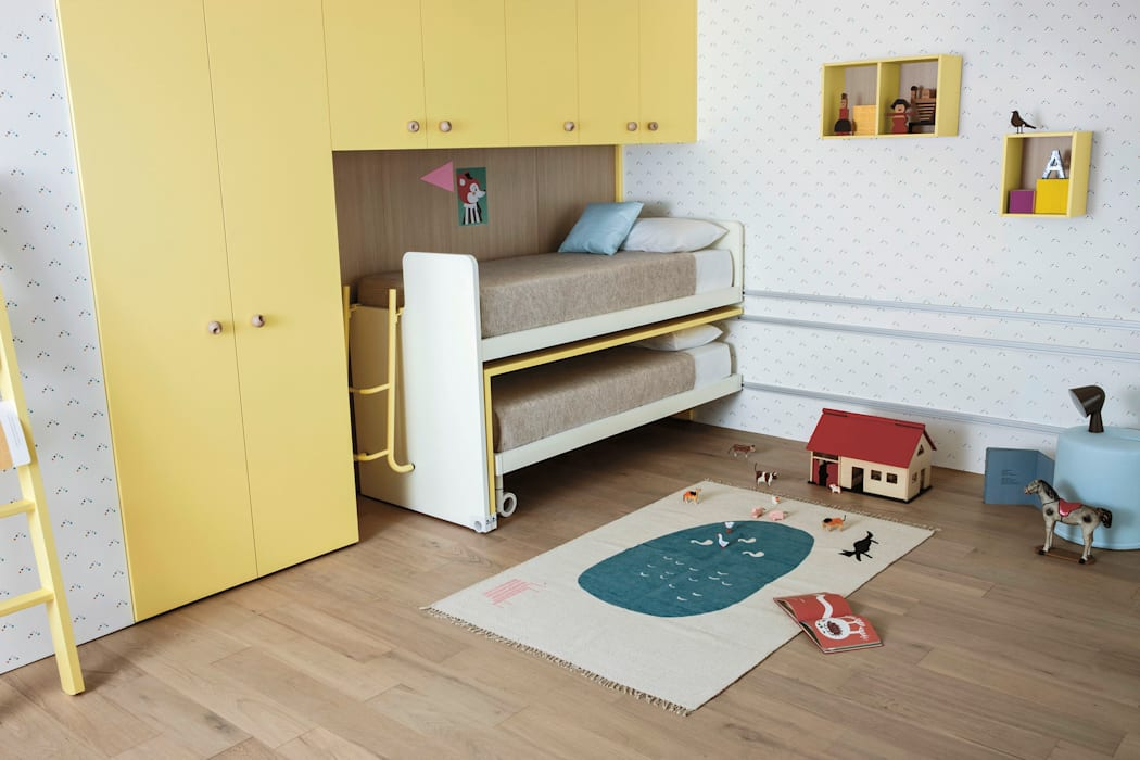 Nidi BedroomBeds & headboards Yellow