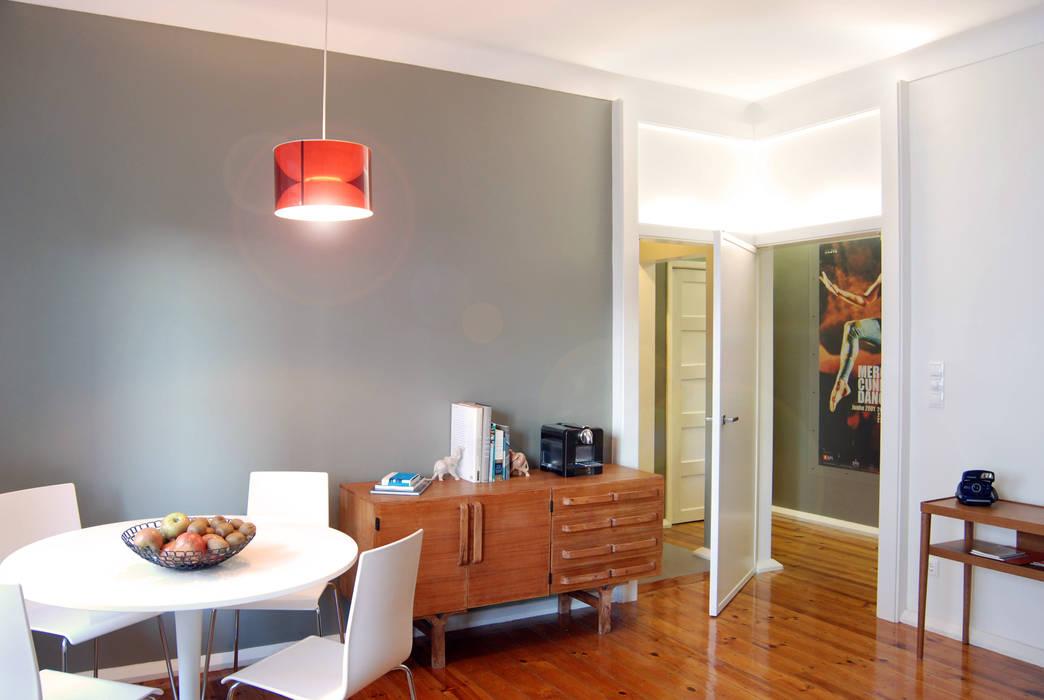 Ruang Makan Gaya Eklektik Oleh BL Design Arquitectura e Interiores Eklektik