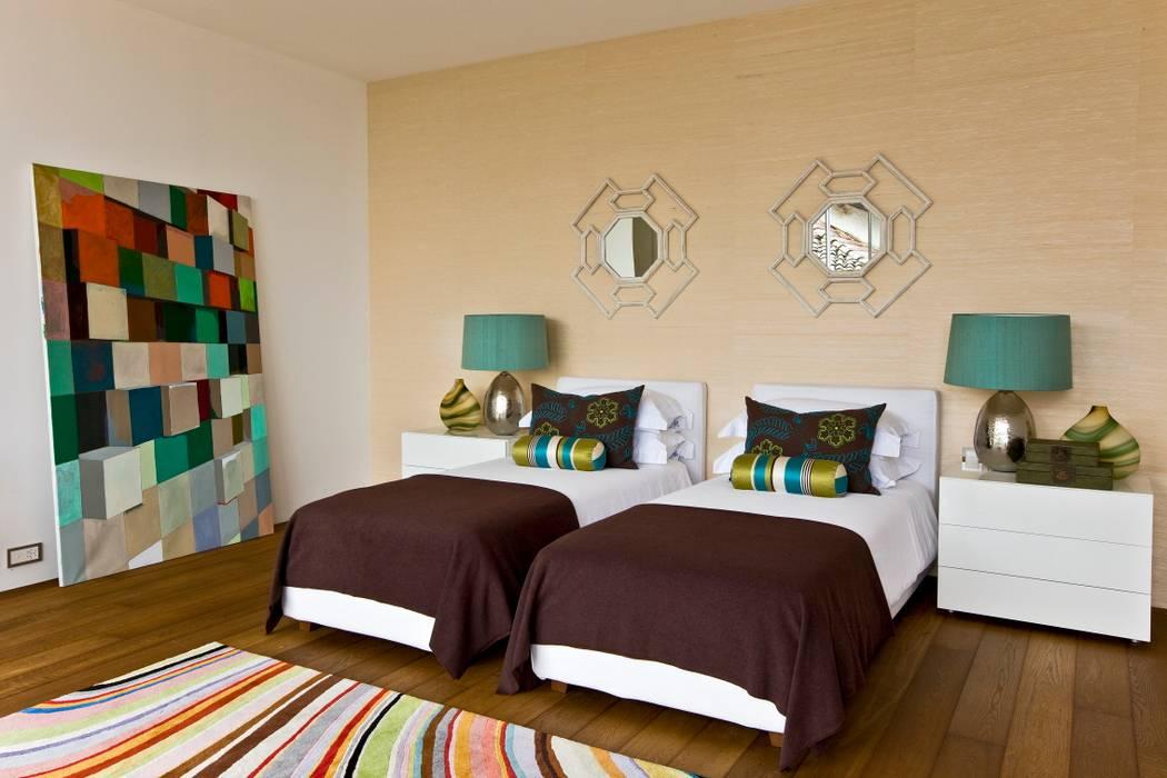 Guest Bedroom Quartos ecléticos por Viterbo Interior design Eclético