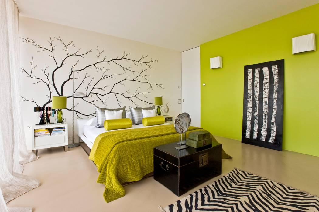 Oriental chic chambre originale par viterbo interior design ...